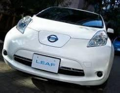 Табличка. Nissan Leaf