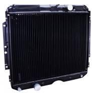 Радиатор охлаждения двигателя. ГАЗ 330810 ГАЗ 3309