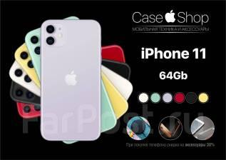 Apple iPhone 11. Новый, 64 Гб, 3G, 4G LTE, Dual-SIM, Защищенный, NFC