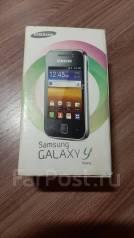 Samsung Galaxy Young. Б/у, Серебристый
