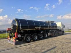 Сеспель SF4B32. Полуприцеп-цистерна Сеспель 32 куба (нефтевоз, битумовоз, мазутовоз), 30 000кг.