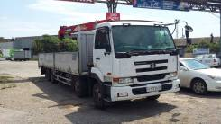 Nissan Diesel. Продам грузовик-манипулятор, 17 000куб. см., 19 000кг., 8x4