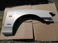 Крыло правое переднее белое Nissan Laurel GC35 RB25DET