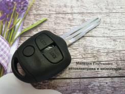 Ключ зажигания (корпус) Mitsubishi 3-х кнопочный