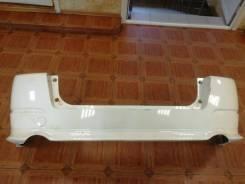 Бампер задний Honda Odyssey(RB) 06-08 год белый с губой 006564