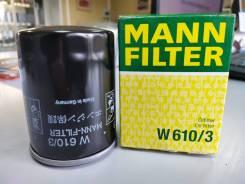Фильтр масляный (Mazda 626 2.5 24V 92, Mitsubishi Galant/Lancer 1.6-2.0 91) MANN Filter W6103