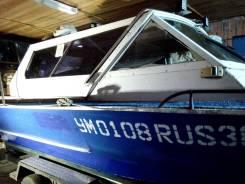 Томь-605 Классик. 2007 год, длина 6,50м., двигатель стационарный, 98,00л.с., бензин