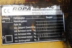 Ropa. Свеклопогрузчик-очиститель ropa-euro-maus (маус)