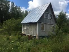 Участок с домом. 600кв.м., собственность, электричество
