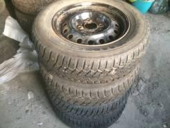Шипованые колеса 2 Kumho + 2 Amtel 185/70R14 + диски 4х114,3 Nissan