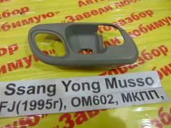 Накладка ручки внутренней Ssang Yong Musso Ssang Yong Musso 1993.09.14, левая передняя