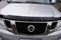 Дефлектор капота. Nissan Patrol, Y62 VK56VD