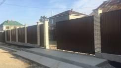 Заборы и ворота. Фундаменты и подпорные стены. Лестницы из бетона.