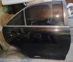 Дверь задняя правая черная цвет 202 Toyota Camry ACV40 2006-2011