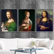 Картины на холстах - украшение интерьера и достойный подарок!