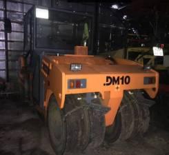 Завод ДМ DM-10-VC. Каток дорожный DM 10