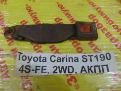 Замок ремня безопасности Toyota Carina Toyota Carina 1992.10, правый задний