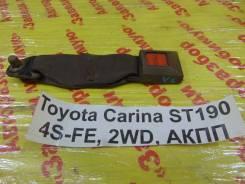 Замок ремня безопасности Toyota Carina Toyota Carina 1992.10, левый задний