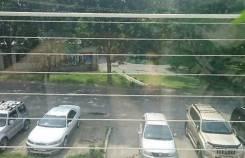 3-комнатная, улица Адмирала Угрюмова 1а. Пригород, агентство, 70,0кв.м. Вид из окна днем