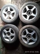 Колеса , шины ( Корея) + литые диски ( Тайвань) на 15. Универсальные.
