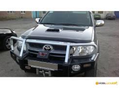 Toyota Hilux 2005 - 2011 SIM Дефлектор капота (Мухобойка) STOHIL0512