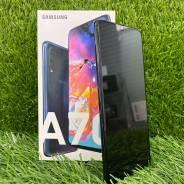 Samsung Galaxy A70. Б/у, 128 Гб, Черный, 3G, 4G LTE, Dual-SIM, Защищенный, NFC
