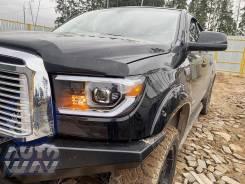 Фары эксклюзив TRD Toyota Tundra-Sequoia 2007-2013 R+L черные №3