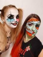 Сделаю любой грим на хеллоуин, макияж