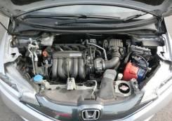 Двигатель на Honda Fit GP5 GP6 стоит на авто