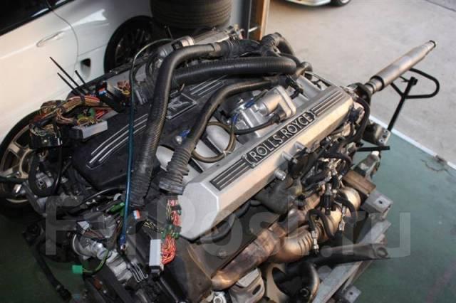 Двигатель 6.8 N73B68 Rolls-Royce Phantom как новый