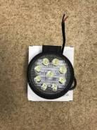 Противотуманная фара на спецтехнику 24V (9 светодиодов) xcmg