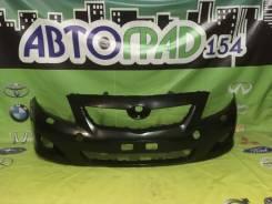 Бампер передний Toyota Corolla #E150 06-10 под омыватели*