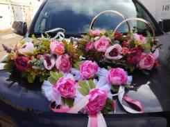 Аренда свадебного украшения на авто