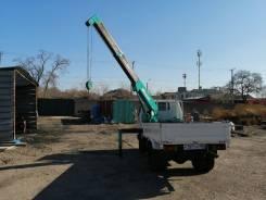 Toyota Dyna. Продам бортовой грузовик с монипулятором (кран), 4 200куб. см., 2 000кг.