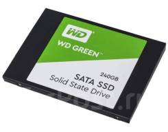 SSD 2,5 дюйма. 240Гб, интерфейс SATA