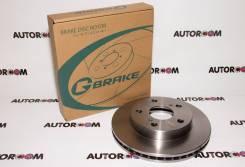 Тормозной диск передний G-Brake GR-02081, Япония