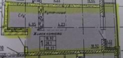 1-комнатная, улица Карла Маркса 146б. Железнодорожный, агентство, 30,4кв.м.