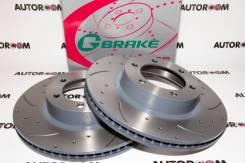 Диски тормозные перфорированные G-brake GFR-02916 (Передние) GFR-02916R, GFR-02916L