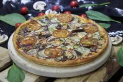 Пицца «А где ежик? » пшеничное / злаковое тесто