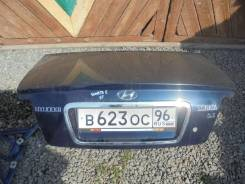 Крышка багажника. Hyundai Sonata, EF G4BS, G4GB, G4GC, G4JN, G4JP, G4JPG, G4JS, G6BA, G6BV, G6BVG