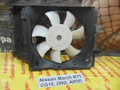 Вентилятор охлаждения радиатора Nissan March K11 Nissan March K11
