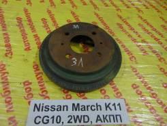 Барабан тормозной Nissan March K11 Nissan March K11, левый задний