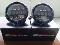 "LED фары 7"" 105Вт диоды Osram original Hummer, UAZ, NIVA, Range Rover"