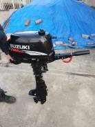 Suzuki. 6,00л.с., 4-тактный, бензиновый, нога S (381 мм), 2008 год