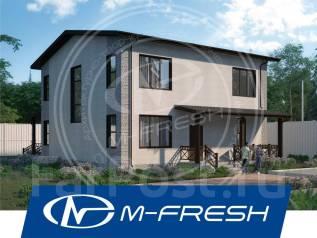 M-fresh Born Free Major! (Проект изумительного дома с 5 спальнями! ). 200-300 кв. м., 2 этажа, 6 комнат, бетон