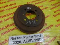Барабан тормозной Nissan Pulsar Nissan Pulsar 03.1997, левый задний