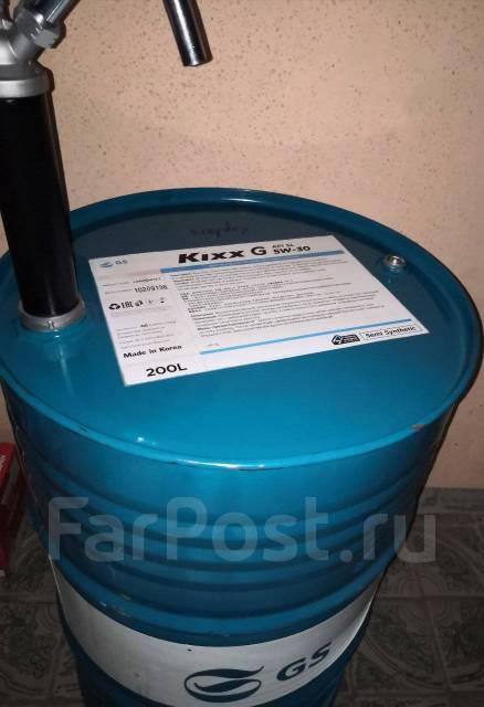 Kixx GS Oil. 5W-30, полусинтетическое, 1,00л.