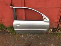 Дверь передняя правая Peugeot 206 купе