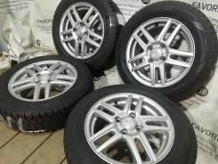 Литые диски Ravrion на шинах Dunlop 175/65R14