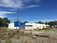 Производственная база в районе Фетисов арены 1.2 гА. Улица Находкинская 10, р-н Сахарный ключ, 563,3кв.м. Дом снаружи